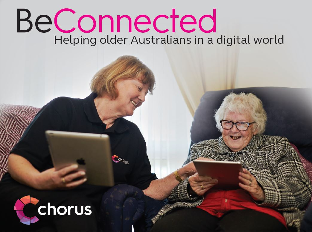 Be Connected digital training for seniors