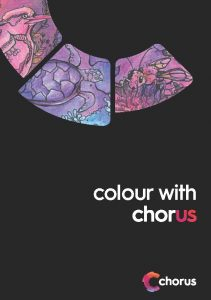 Colour with Chorus graphic