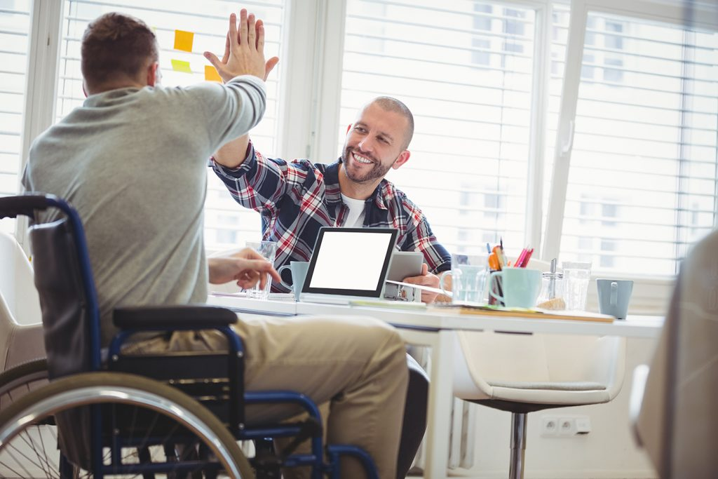 Positive outcomes for those living with disability