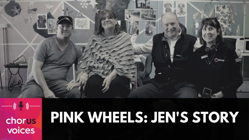 Pink Wheels - Jen's Story