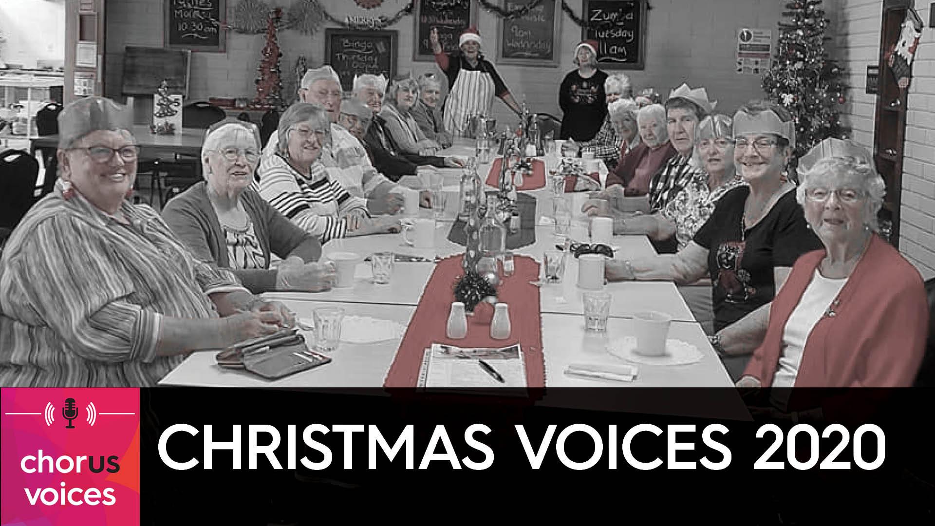 Chorus customers in Albany enjoy a Christmas feast