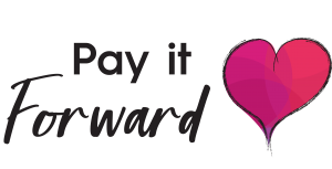 Pay it forward logo to donate meals
